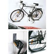 Fahrrad-Wandhalter mit Schienen fvz