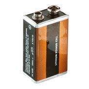 Ersatzbatterie 9V Lithium Block Batterie