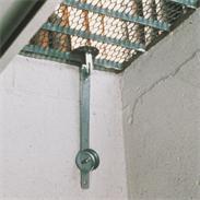 ABUS GS20 leichte Gitterrostsicherung mit Stangen