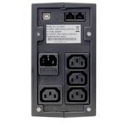 ALLNET ALL90400 USV  400VA LineInterakt - 6min USB