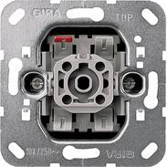 Gira Wechselschalter-Einsatz 10A 250VAC