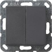 Gira Tast-Serienschalter System 55 anthrazit