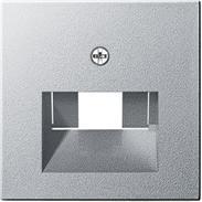 Gira Zentralplatte UAE/IAE alu System 55