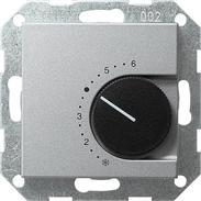Gira Raumthermostat Öffner alu System 55
