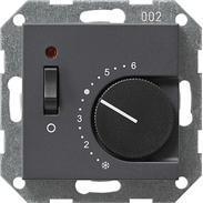 Gira Raumthermostat Ein/Aus anth System 55