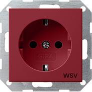 Gira Schuko-Steckdose rt-gl WSV System 55