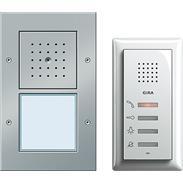 Gira Einfamilienhaus-Paket Audio aluminium