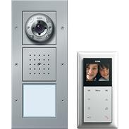 Gira Einfamilienhaus-Paket Video aluminium