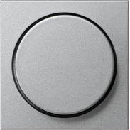 Gira Dimmer-Abdeckung alu System 55