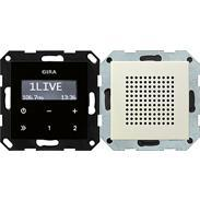 Gira UP-Radio RDS cws System 55