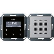 Gira UP-Radio RDS alu E 22