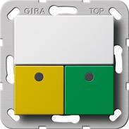Gira Dienstzimmereinheit Notrufset Rufsystem 834