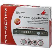 MONACOR DMR-2860 16-Kanal-Digital-Rekorder