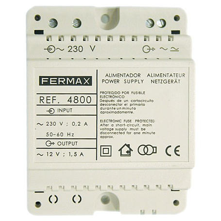 Fermax Netzgerät 230Vac/12Vac - 1,5A, 4800