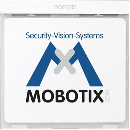 Mobotix Infomodul mit LEDs, weiß