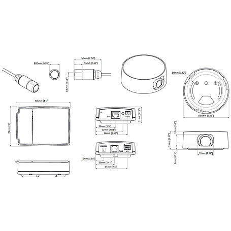 Axis P1214-E IP-Kamera 720p PoE IP66