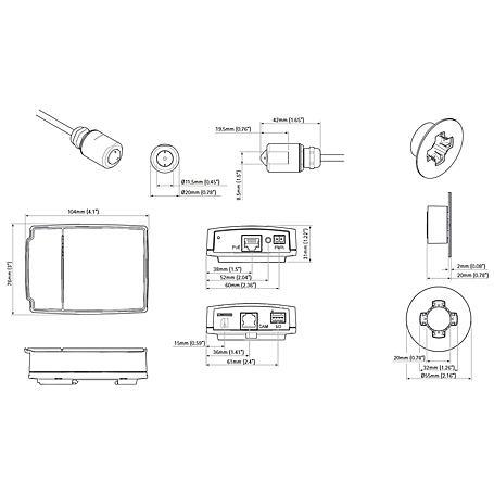 Axis P1214 IP-Kamera 720p PoE
