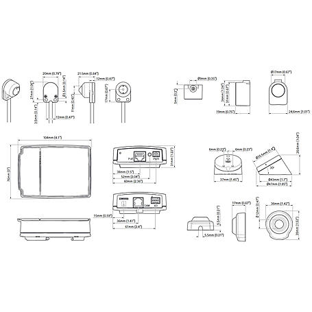 Axis P1204 IP-Kamera 720p PoE