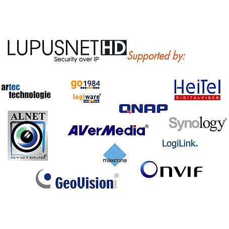 Lupus Netzwerkkamera LUPUSNET LE932 PoE