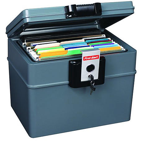 FirstAlert 2037FE Feuerfeste Dokumentenbox - groß