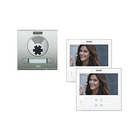 Fermax Videotürsprechanlagen-Set 2WE - SMILE 7''