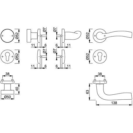 Melbourne 1672/19KV/19KVS Wechselgarnitur PZ F1-2