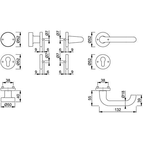 Paris 138L/42KV/42KVS Wechsel-Garnitur PZ F4
