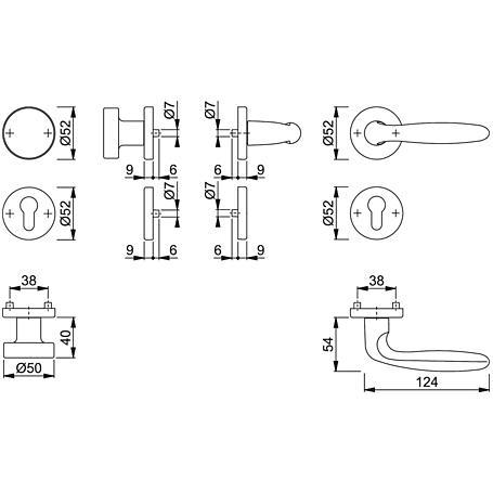 Verona 1510/42KV/42KVS Wechselgarnitur PZ F1