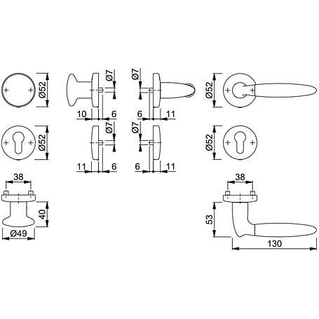 Athinai M156/19KV/19KVS Wechselgarnitur PZ