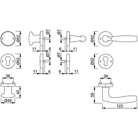 Vitória M1515/23KV/23KVS Wechselgarnitur PZ