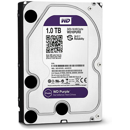 Western Digital Festplatte - WD Purple 1 TB