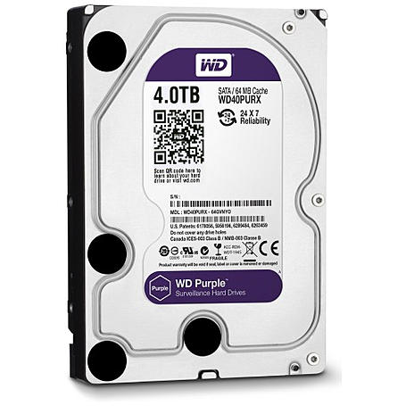 Western Digital Festplatte - WD Purple 4 TB