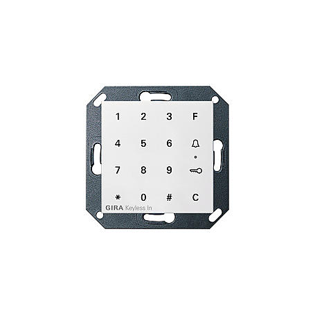 Gira Keyless In Codetastatur, 260503, rws-gl. TX44