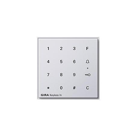 Gira Keyless In Codetastatur, 260566, rws,  TX44