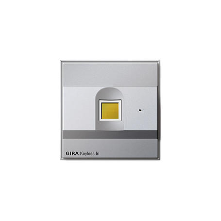 Gira Keyless In Fingerprint - 260765, Alu. IP44