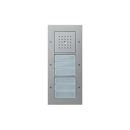 Gira Türstation AP 6fach, TX_44, Aluminium