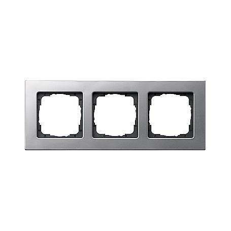 Gira Rahmen 3fach alu E22