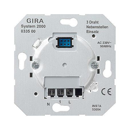 Gira Uni-Nebenstelle-Einsatz 3-Draht System 2000