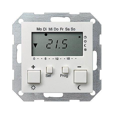 Gira RT-Regler 230 V mit Uhr rws-mt System 55