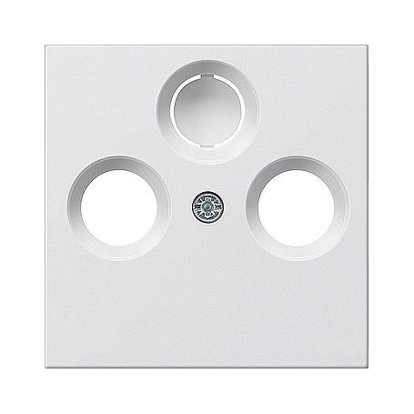 Gira Zentralplatte f.Koax-Steck. rws-gl System 55
