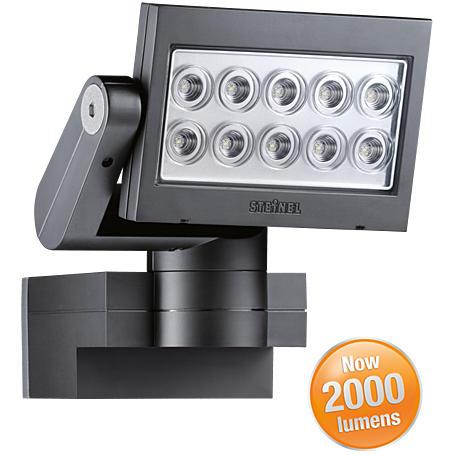 Steinel LED-Strahler 10x3W XLed-SL 10 sw