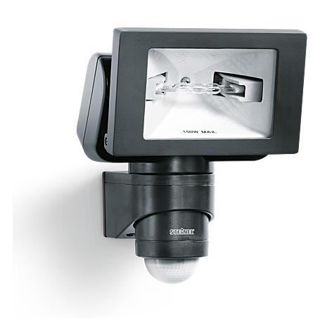 Steinel Sensor-Halogenstrahler 150W HS150 DUO sw