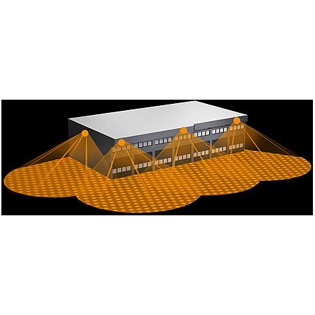 Steinel Sensor-Halogenstrahler 500W HS 502 sw