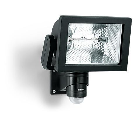 Steinel Sensor-Halogenstrahler 500W HS 500 DUO sw