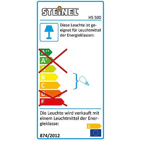 Steinel Sensor-Halogenstrahler 500W HS 500 DUO ws