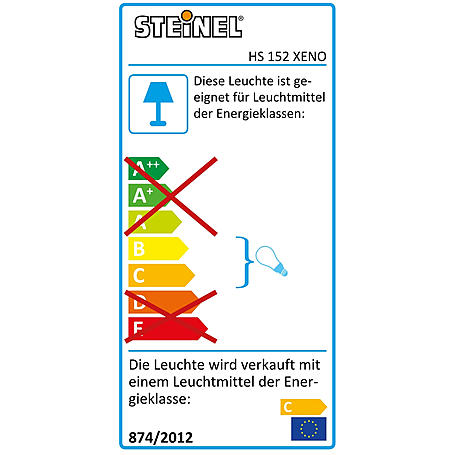 Steinel Sensor-Halogenstrahler HS 152 XENO sw