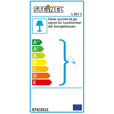 Steinel Sensor-Leuchte 100W IP44 230-240V L867S ed