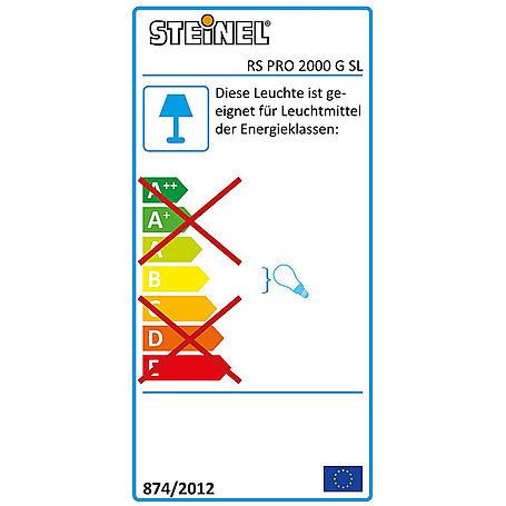 Steinel Sensor-Leuchte weiß RS PRO 2000 Sensor