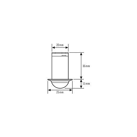 Esylux Deckenbewegungsmelder MD-C360i/6 mini 12V
