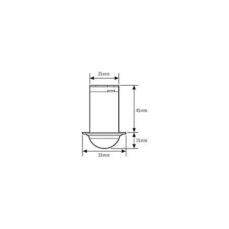 Esylux Deckenbewegungsmelder MD-C360i/8 mini